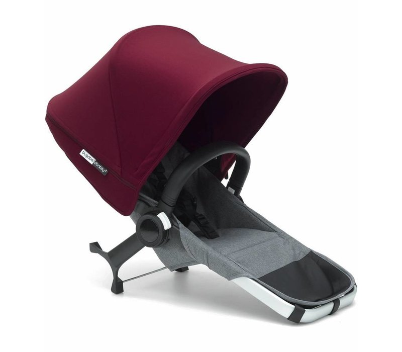Bugaboo Donkey2 Duo Extension Set Complete Grey/Red
