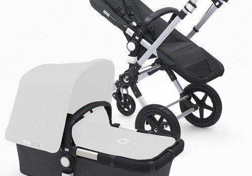 Bugaboo 2017 Bugaboo Cameleon3 Stroller Base In Dark Grey With Silver Frame