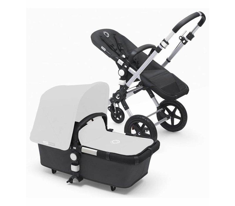 2017 Bugaboo Cameleon3 Stroller Base In Dark Grey With Silver Frame