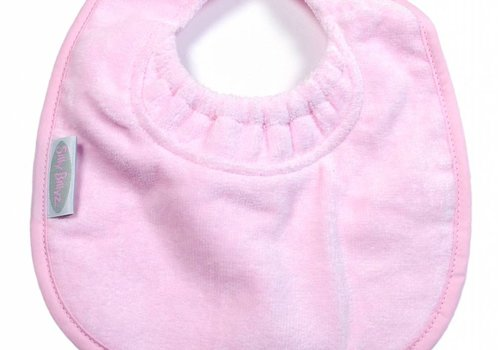 Silly Billyz SillY BillyZ Snuggly Toweling Biblet 0-2 Years In Pink