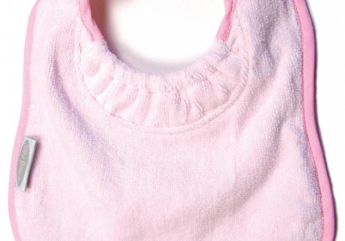 Silly Billyz SillY BillyZ Velour Plain Bib 3 Months - 3 Yrs In Pink