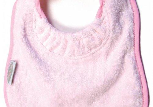 Silly Billyz SillY BillyZ Velour Plain Bib 6 Months - 3 Yrs In Pink