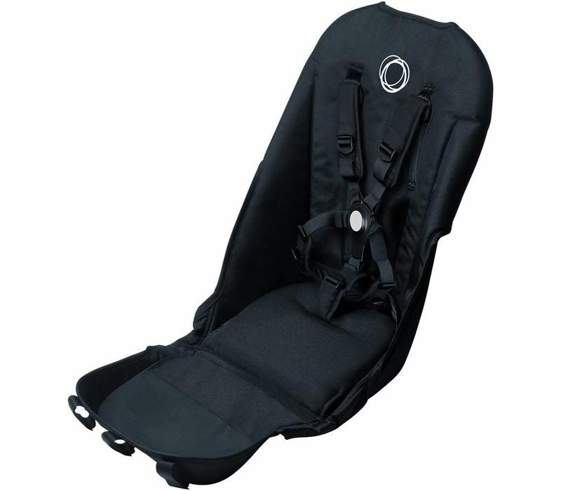 Bugaboo Donkey2 Seat Fabric In Black