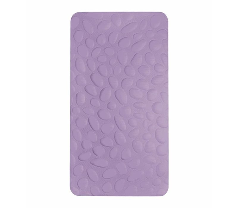 Nook Sleep Pebble Lite Crib Mattress In Lilac (Non-Toxic Foam)- 2 Stage