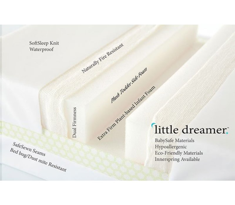 Moonlight Slumber Little Dreamer Full All Foam- Dual Firmness