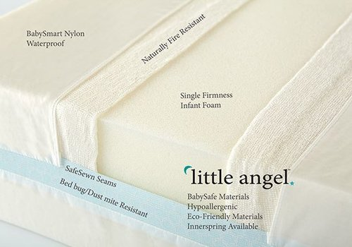 Moonlight Slumber Moonlight Slumber Little Angel Crib Mattress - All Foam One-Sided