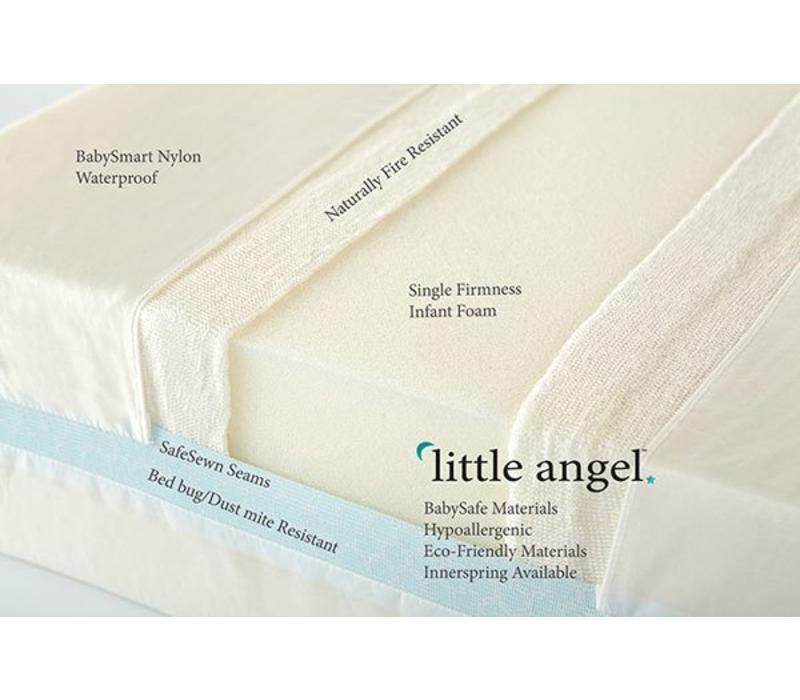 Moonlight Slumber Little Angel Crib Mattress - All Foam One-Sided