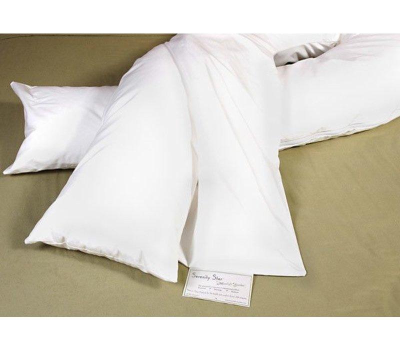 Moonlight Slumber Serenity Star Transitional Pillow - Full Length