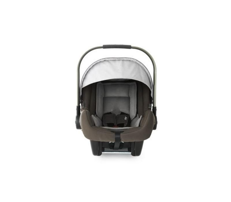 Nuna Pipa Infant Car Seat In Sand With Base