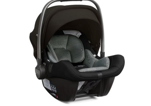 Nuna Nuna Pipa Lite Infant Car Seat In Ebony With Base