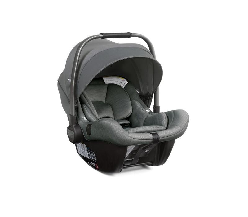 Nuna Pipa Lite Infant Car Seat In Fog With Base
