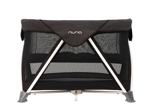 Nuna Nuna Sena Aire Pack and Play Playard Travel Crib With Bassinet In Night