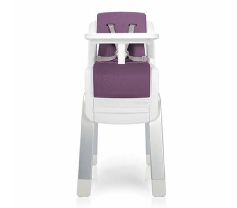 Nuna Zaaz Infant to Adult High Chair In Plum
