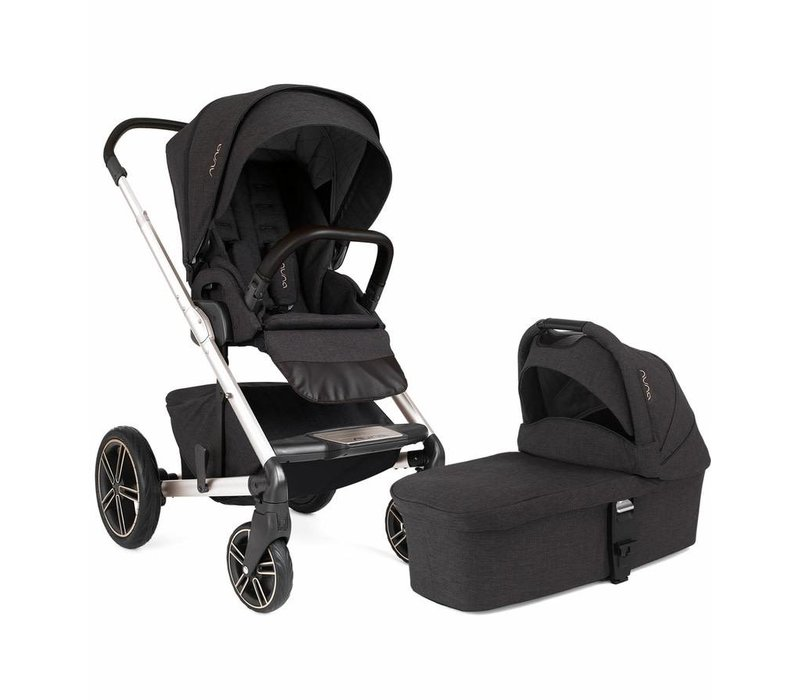 Nuna Mixx2 Stroller In Suited With Bassinet