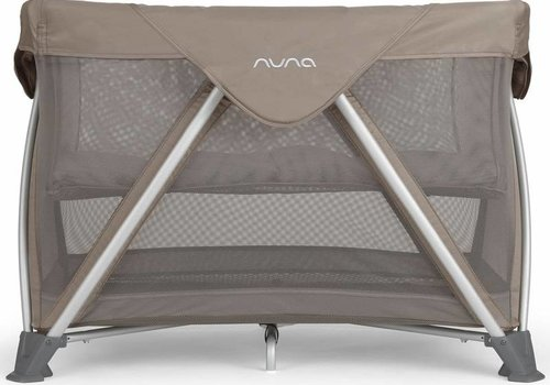 Nuna Nuna Sena Aire Pack and Play Playard Travel Crib With Bassinet In Safari
