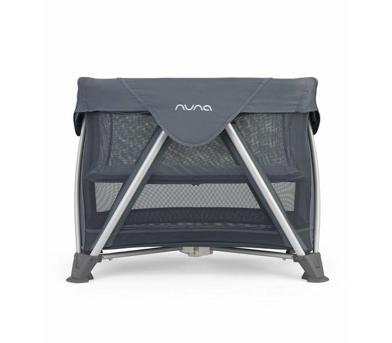 Nuna Sena Mini Aire Travel Crib In Graphite
