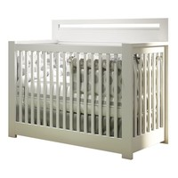Nest Milano 4 In 1 Convertible Crib In White
