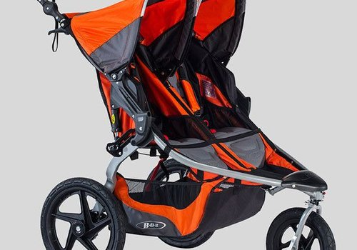BOB 2018 BOB Revolution Flex Duallie Double Stroller In Canyon