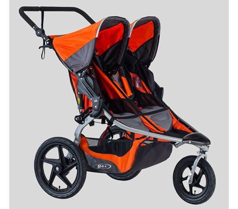 2018 BOB Revolution Flex Duallie Double Stroller In Canyon