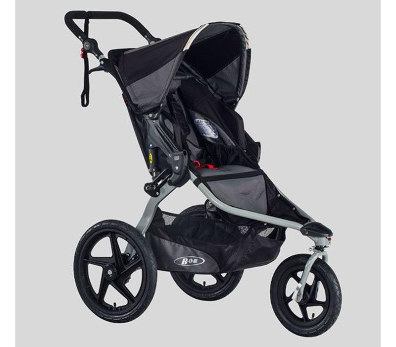 2018 BOB Revolution Flex Stroller In Black-Black