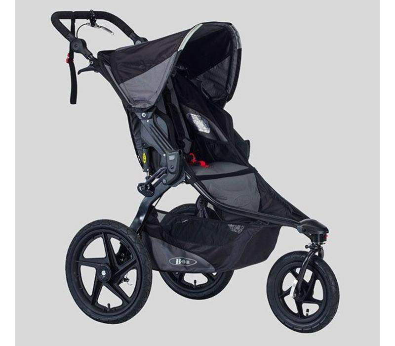 2018 BOB Revolution Pro Stroller In Black-Black