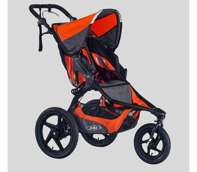 2018 BOB Revolution Pro Stroller In Lagoon-Black