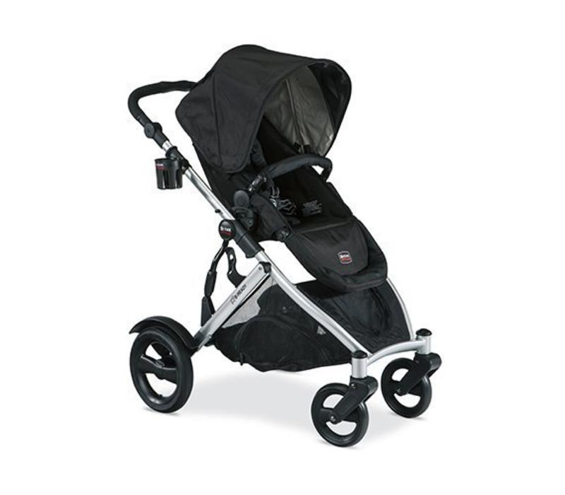 Britax B-Ready Stroller In Black With Cup Holder