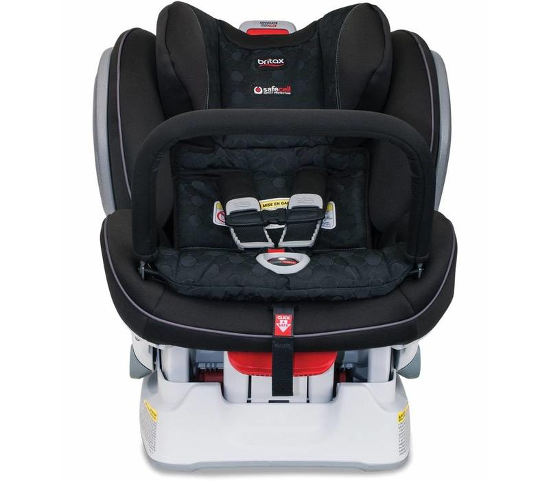 Britax Advocate ClickTight Anti Rebound Bar (ARB) Convertible Car Seat In Circa