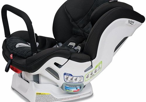 Britax Britax Boulevard Clicktight Anti Rebound Bar (ARB) Convertible Car Seat In Circa