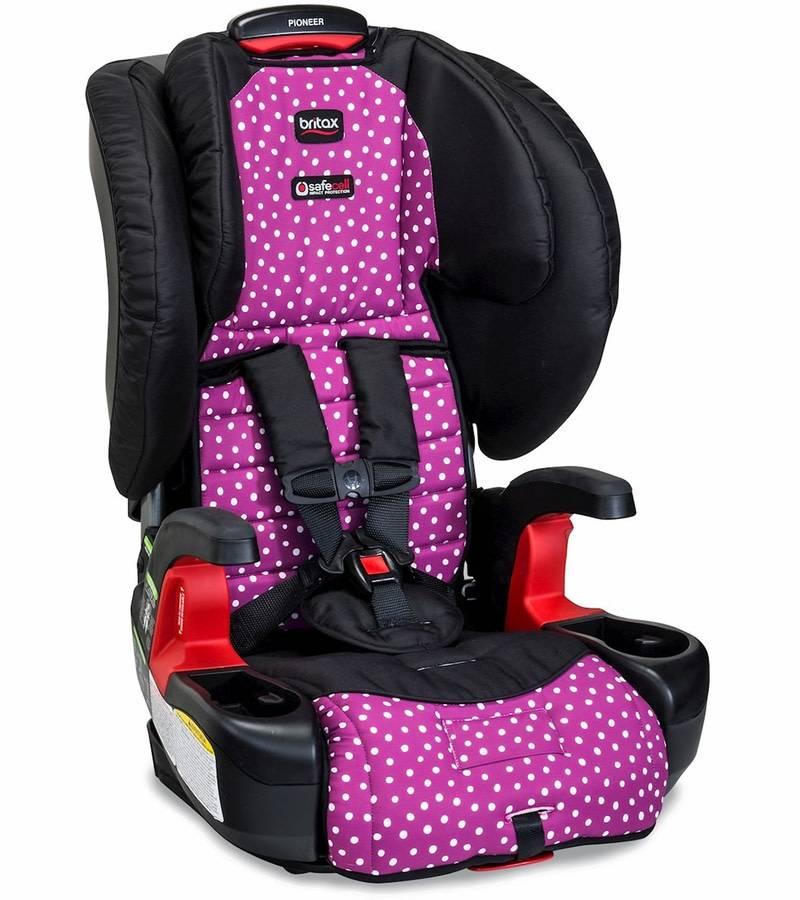 britax britax pioneer g1 1 harness 2 booster seat in confetti. Black Bedroom Furniture Sets. Home Design Ideas