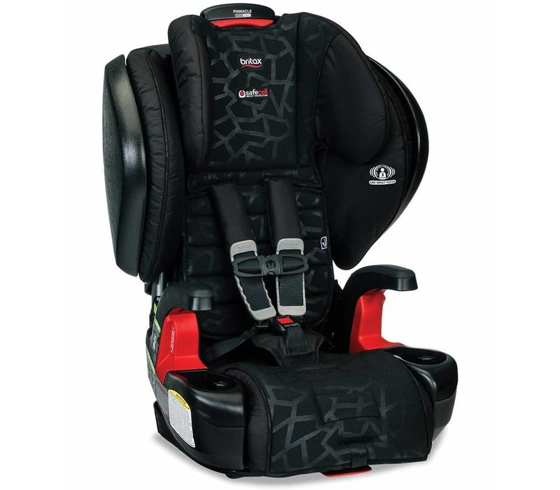 Britax Pinnacle Clicktight Harness-2-Booster Seat In Mosaic