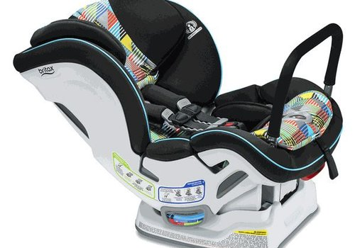 Britax Britax Boulevard Clicktight Anti Rebound Bar (ARB) Convertible Car Seat In Vector