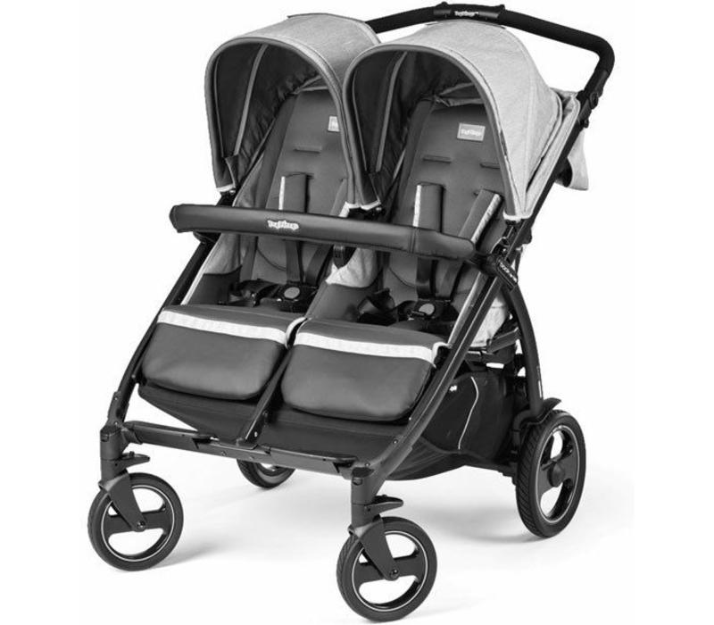 Peg Perego Book For Two In Atmosphere-Light Grey & Dark Grey