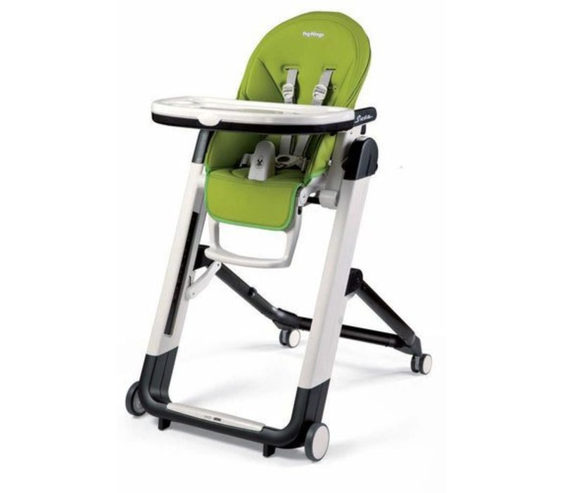 Peg Perego Prima Siesta High Chair In Mela -Apple Green