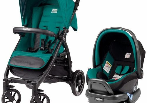 Peg-Perego Peg Perego Booklet Travel System In Aquamarine