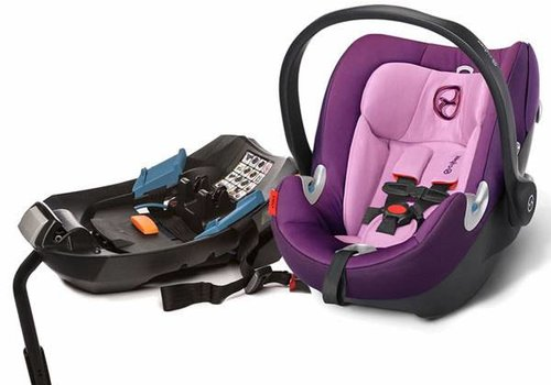 Cybex 2017 Cybex Aton Q In Grape Juice