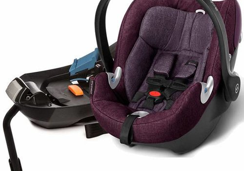 Cybex 2017 Cybex Aton Q Plus In Grape Juice