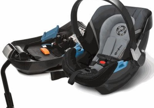 Cybex 2017 Cybex Aton 2 Infant Car Seat With Base In Moon Dust