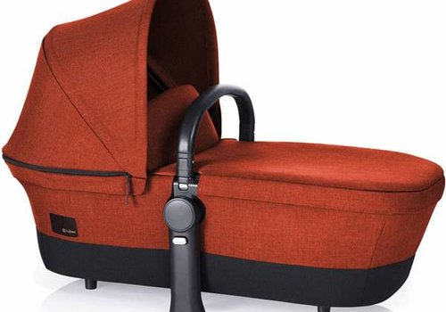 Cybex 2017 Cybex Priam Carry Cot In Autumn Gold Denim