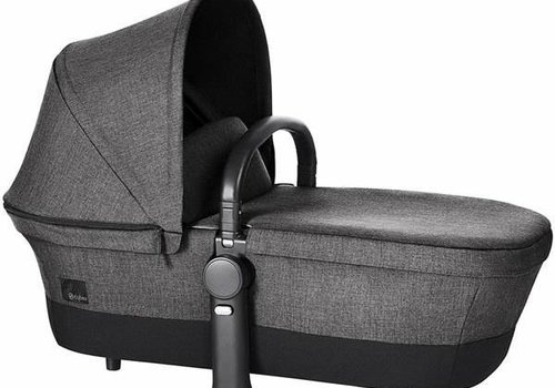 Cybex 2017 Cybex Priam Carry Cot In Manhattan Grey