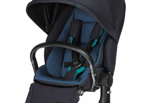 Cybex CLOSEOUT!! 2017 Cybex Priam Lux Seat In True Blue Denim