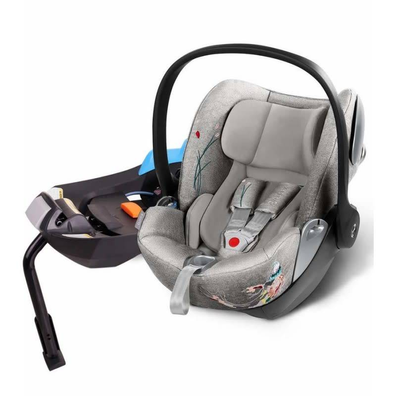 cybex cybex cloud q infant car seat in koi. Black Bedroom Furniture Sets. Home Design Ideas