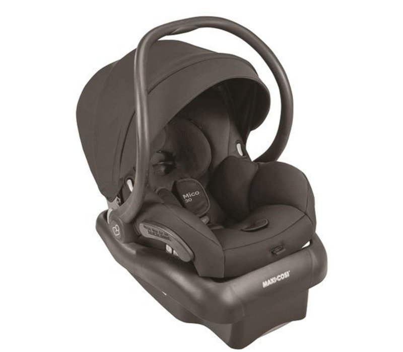 2017 Maxi Cosi Mico 30 Infant Car Seat With Base In Devoted Black