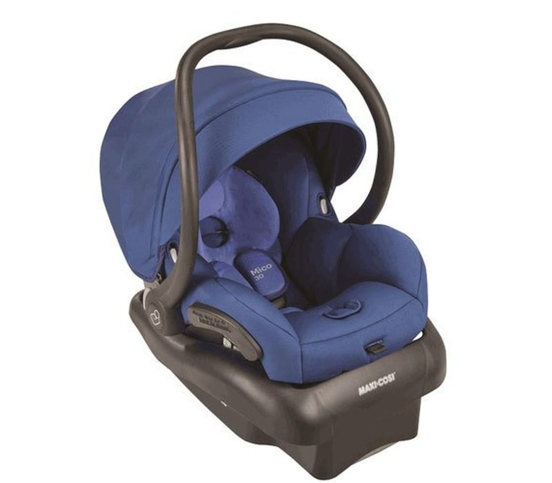 2017 Maxi Cosi Mico 30 Infant Car Seat With Base In Vivid Blue
