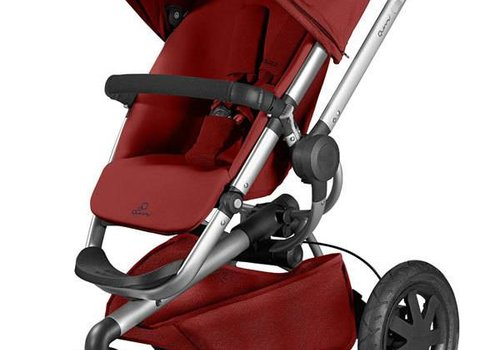 Quinny Quinny Buzz Xtra Wheel Stroller In Red Rumor