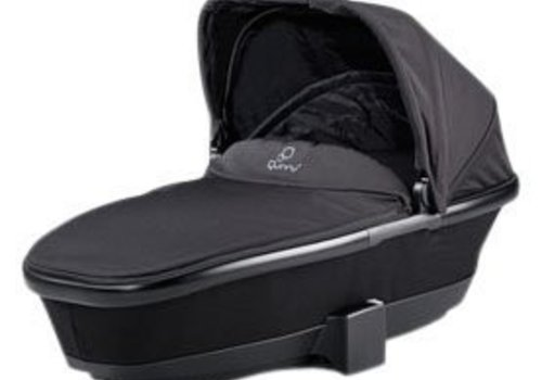 Quinny CLOSEOUT!! Quinny Tukk Bassinet Foldable Carrier In Black Devotion For Moodd And Buzz