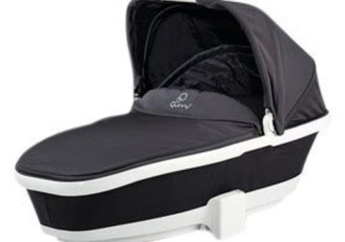 Quinny CLOSEOUT!! Quinny Tukk Bassinet Foldable Carrier In Black Irony For Moodd And Buzz
