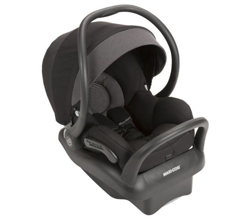 2017 Maxi Cosi Mico Max Infant Car Seat With Base In Devoted Black