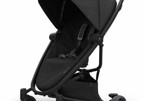 Quinny Quinny Zapp Flex Stroller With Folding Seat In Black On Black