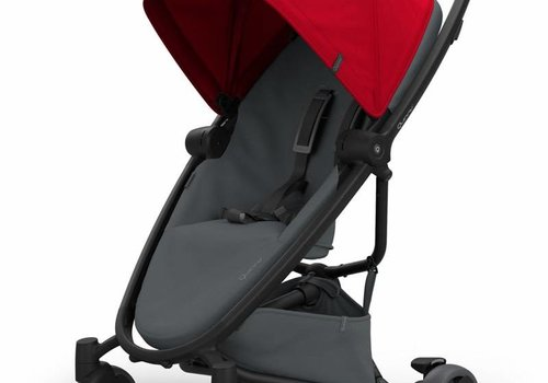 Quinny Quinny Zapp Flex Stroller With Folding Seat In Red On Graphite